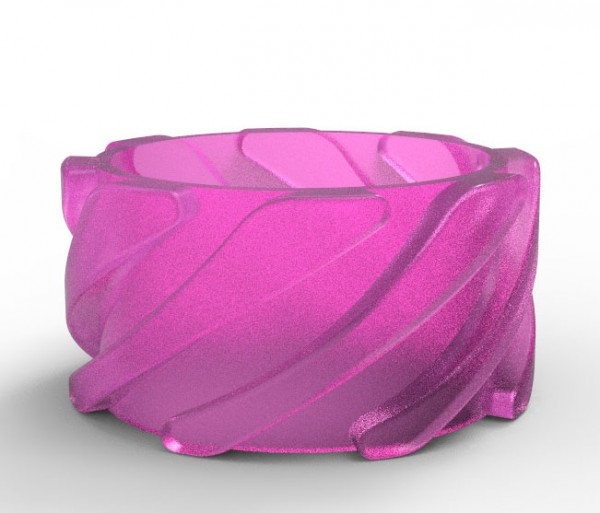 Shield Acryl Wave