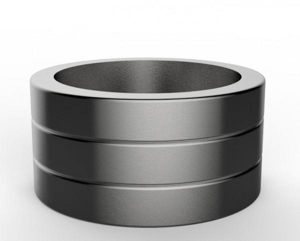 Shield Edelstahl Ring